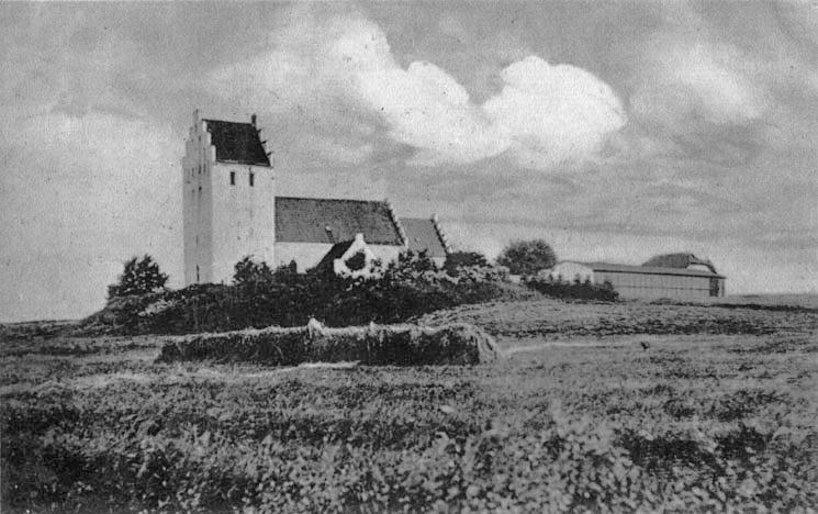 Kirken først i 1900-tallet