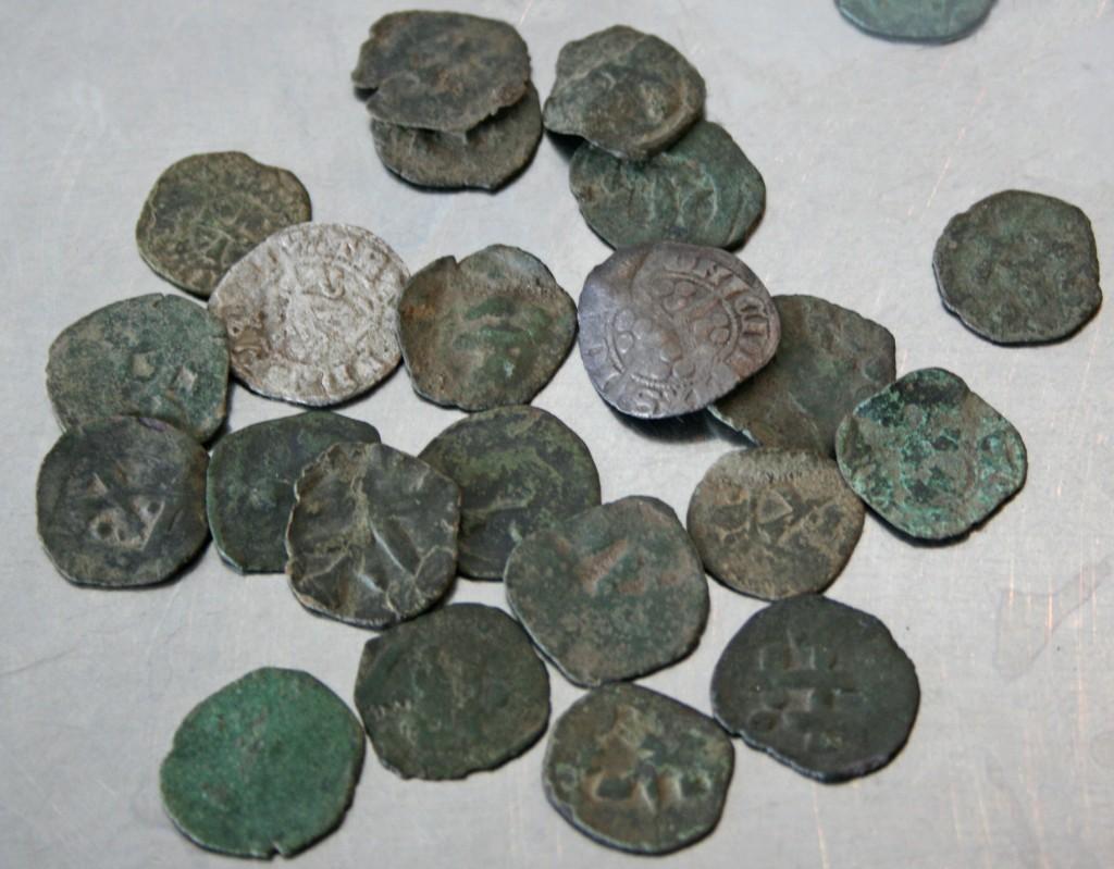 Sølvmønter Møllen 1